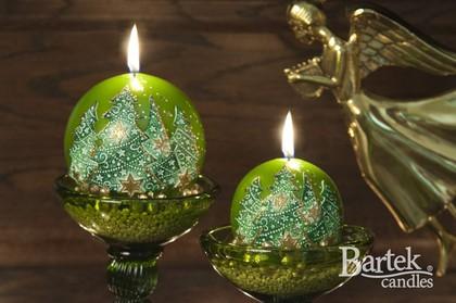 """Свеча """"Ёлочка нарядная"""", колонна, 6х13см Bartek Candles 118011"""