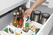 Кухонная подставка-органайзер M белая Brabantia 423505