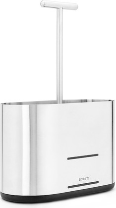Подставка для кухонных принадлежностей, матовая сталь / чёрный Brabantia 460203