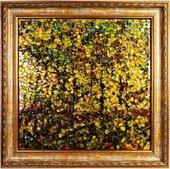 Картина стеклянная Золотая осень 50x50см Top Art Studio LG1227-TA