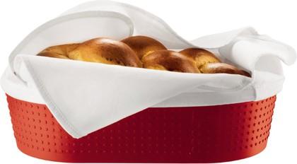 Корзинка для хлеба с 2 салфетками красная Bodum BISTRO 11320-294