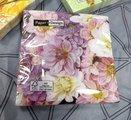 Салфетки коктейль Садовые цветы, 25x25см, 3 слоя, 20шт Paper+Design 11720