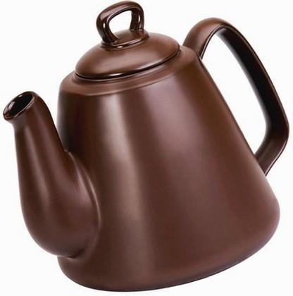 Ceraflame TROPEIRO Чайник керамический, цвет - шоколадный, 1,3л, артикул B30755