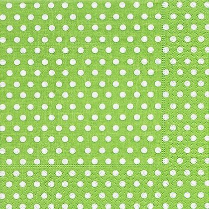Салфетки для декупажа Зеленый горох, 33x33см, 3 слоя, 20шт Paper+Design LN0467