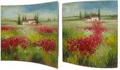 Картина Бескрайние просторы 38x38см, пара Top Art Studio WDP1760-TA