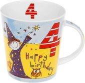 """Кружка для мальчика """"С Днем Рождения 4 года"""" Рэйчел Эллен The Leonardo Collection LP32842"""