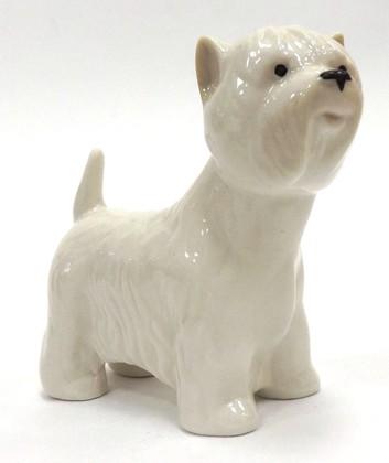 Статуэтка Собака. Вести, 8см, фарфор ИФЗ 82.61763.00.1