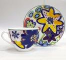 Чашка с блюдцем Катя, ф. Весенняя-2 ИФЗ 81.23853.00.1