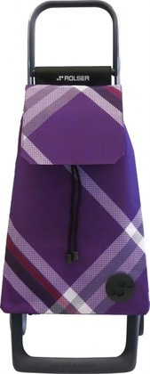 Сумка-тележка хозяйственная фиолетовая Rolser JOY-1800 BAB010more