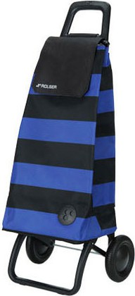 Сумка-тележка хозяйственная сине-чёрная Rolser RG MOUNTAIN MOU053azul/negro