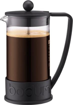 Кофейник с прессом 1.0л, чёрный Bodum BRAZIL 10938-01