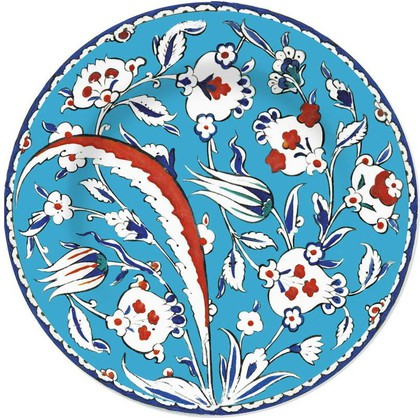 Тарелка Гранатовое дерево Изник Музей Лондона, 19см Creative Tops 5151699