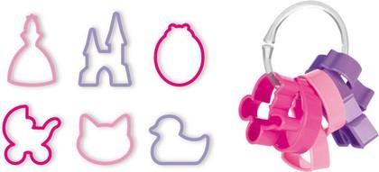 Формочки для девочек, 6шт. Tescoma DELICIA Kids 630920