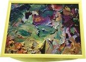 """Поднос с подушкой """"Палитра"""" 41x31см Top Art Studio HSN1284-TA"""