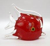 Фигурка стеклянная Дискус розовый 14х11см Top Art Studio ZB1513-TA
