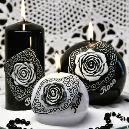 "Bartek Candles DOLCE VITA Свеча ""Дольче вита"" - образ коллекции B, блок 50х50х150мм, артикул 5907602660500"