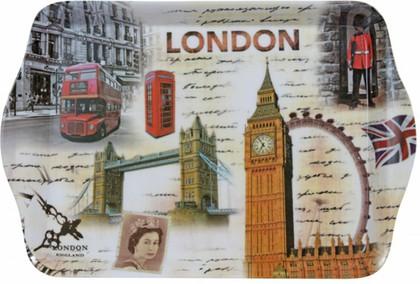 Поднос Достопримечательности Лондона Sterling Products TRY004A