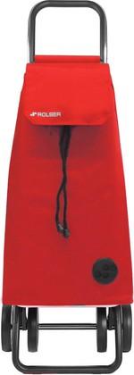 Сумка-тележка хозяйственная красная Rolser DOS+2 MOUNTAIN MOU003rojo