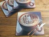 Подставки на пробке Кружка кофе 29х29см, 4шт Creative Tops 5162904