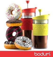 Кто-то любит пончики с чаем, кто-то с кофе, но все выбирают Bodum