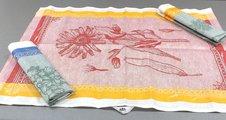 Набор льняных полотенец Ботаника 3шт. 50x70см Белорусский лён 13c374/140/0