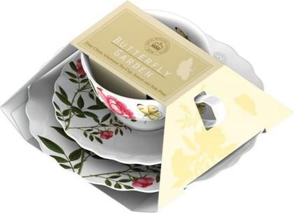 Набор чайный Баттерфляй, 3 пр. Creative Tops 5151571