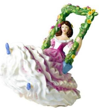 Статуэтка Время цветения 17см фарфор Royal Doulton PEFISC21613