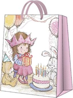 Пакет подарочный Принцесса 20x25x10см Paw AGB1000203