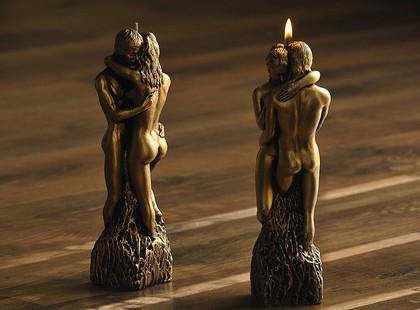 """Свеча """"Влюблённая пара"""" фигурка 25см Bartek Candles 108111"""