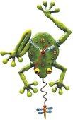 """Настенные часы """"Глаза в глаза"""" (Frog Fly), 34см Enesco C106"""