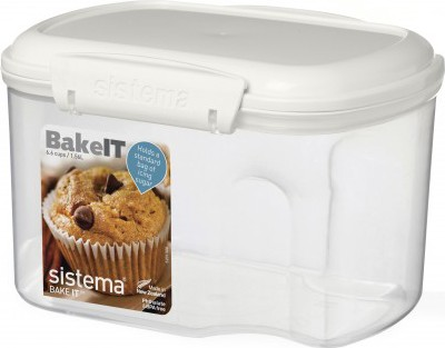 Контейнер 1.56л с чашкой Sistema Bake It 1230