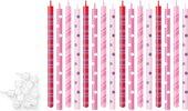 Свечи для торта с подставками 12см, 16шт. Tescoma DELICIA KIDS 630990