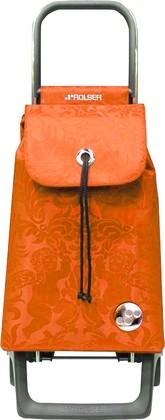 Сумка-тележка хозяйственная компактная оранжевая Rolser JOY-1800 BABY BAB008mandarina