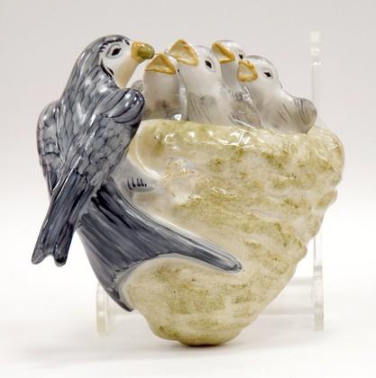 Скульптура Ласточкино гнездо, Дулёвский фарфор ДС1092