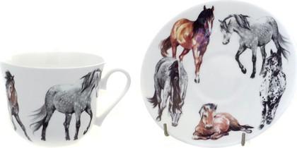 """Чайная пара """"Моя лошадь"""", 500мл Roy Kirkham XNEWHOR1100"""