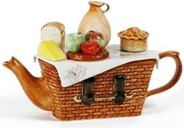"Чайник коллекционный ""Пикник по-английски"" (English Picnic) The Teapottery 4421"