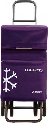 Термосумка-тележка хозяйственная фиолетовая Rolser DOS+2 THERMO TER038more