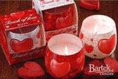 "Свеча ""Касание любви"", стакан 8х7см Bartek Candles 135061"