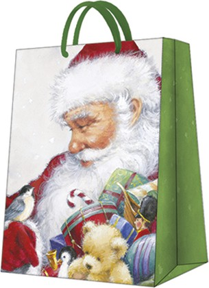 "Пакет подарочный ""Любимый Санта"" 20x25x10см Paw AGB030403"