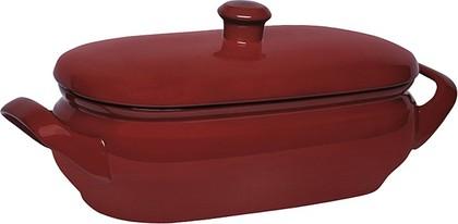 Ceraflame TERRINE Ёмкость для запекания с крышкой, керамика, 4,5л, красная, артикул A4603102422