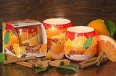 Свеча Рождественские специи, стакан Bartek Candles 5907602672565