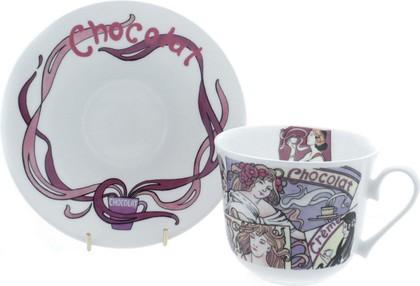 """Чайная пара для завтрака """"Горячий шоколад"""" 500мл Roy Kirkham COHOT1101"""