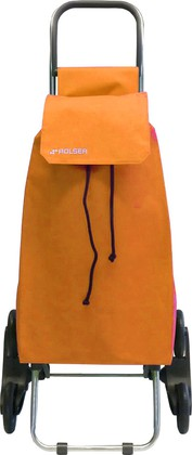 Сумка-тележка хозяйственная оранжевая Rolser RD6 SAQUET SAQ006mandarina