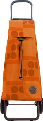Сумка-тележка хозяйственная оранжевая Rolser RG MOU039mandarina