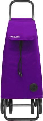 Сумка-тележка хозяйственная фиолетовая Rolser DOS+2 MOUNTAIN MOU003more