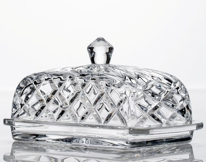 "Маслёнка ""Мозайка"" 17см Crystalite Bohemia 5K906/1/99T01/170"