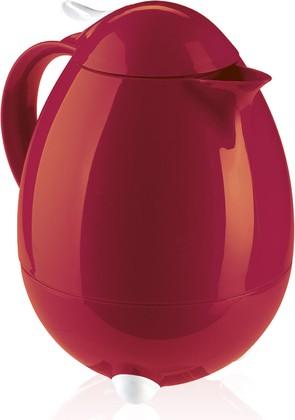 Чайник-термос тёмно-красный глянцевый, 1.0л Leifheit COLUMBUS 28336
