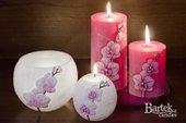 "Лампион ""Орхидея"", шар, диаметр 12см Bartek Candles 185094"