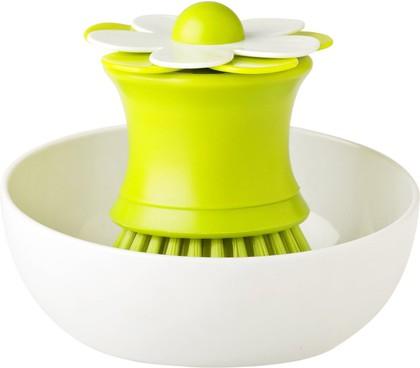 Щётка для посуды на подставке Vigarе Flor 6028