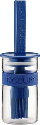 Ёмкость для соуса с кисточкой 0.25л, синяя Bodum BISTRO 11203-842